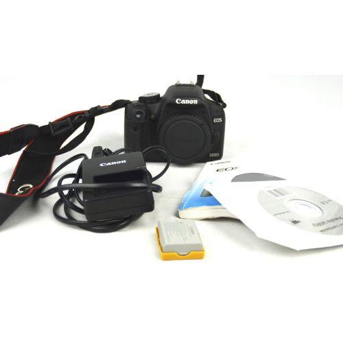 Canon EOS 500D Body (15 Megapixel, LiveView, HD-Video), schwarz