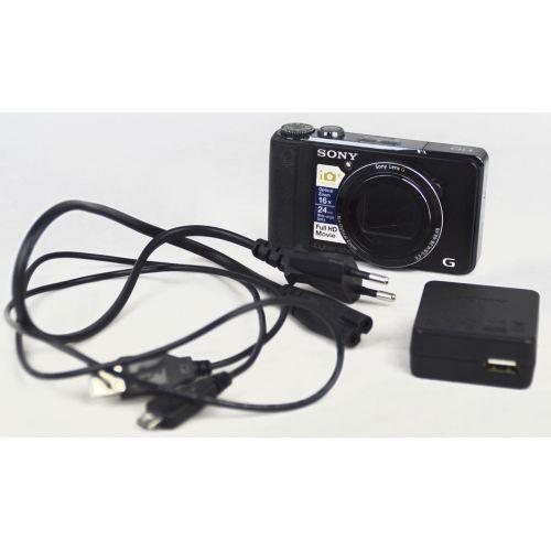 Sony DSC-HX9V Digitalkamera (16,8 Megapixel), Farbe: schwarz