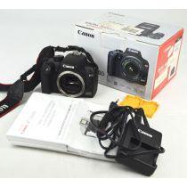 Canon EOS 1000D Body SLR-Digitalkamera gebraucht OVP (10 Megapixel, Live-View), Farbe: schwarz