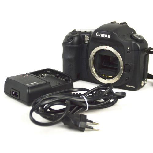 Canon EOS 10D Body (6,5 Megapixel), Farbe: schwarz