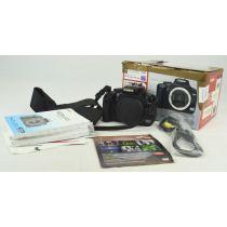 Canon EOS 400D SLR-Digitalkamera Body gebraucht (10 Megapixel) Farbe: schwarz