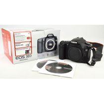 Canon EOS 30D Body SLR-Digitalkamera gebraucht OVP (8 Megapixel) schwarz