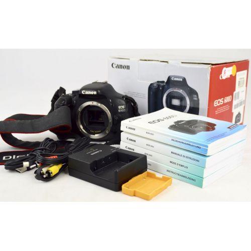 Canon EOS 600D SLR-Digitalkamera (18 Megapixel, Full HD)
