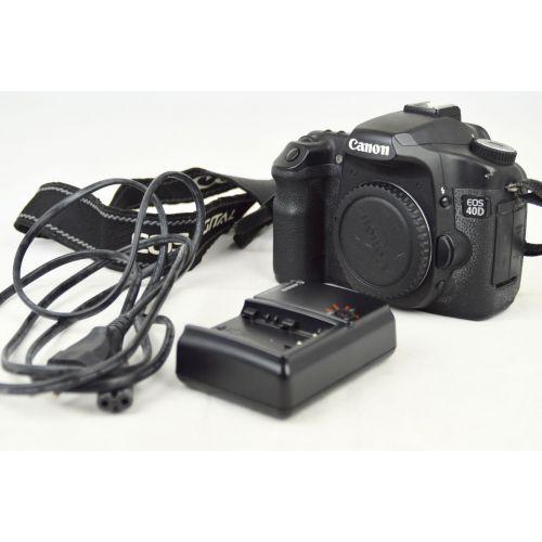 Canon EOS 40D Body (10 Megapixel) schwarz