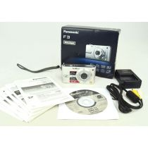 Panasonic Lumix DMC-FX10 (6,4 Megapixel), dunkelblau
