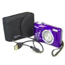 Nikon Coolpix L31 Digitalkamera gebraucht OVP (16 Megapixel), Lila