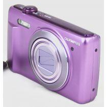 Olympus VR-340 (16,5 Megapixel), Farbe: violett Digitalkamera gebraucht