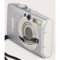 Canon IXUS 95 IS gebraucht Digitalkamera (10 Megapixel), silber