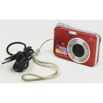 GE A1250 Digitalkamera (12,2 Megapixel), Farbe: rot