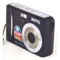 BenQ DC C1430 Digitalkamera (14 Megapixel), schwarz