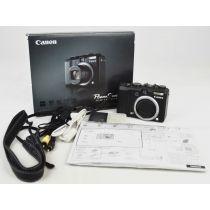 Canon PowerShot G7 mit OVP, DEFEKT (10,7 Megapixel), Farbe: schwarz Digitalkamera gebraucht