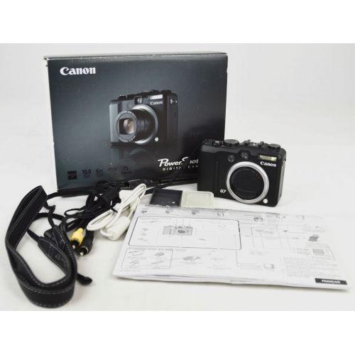 Canon PowerShot G7 mit OVP, DEFEKT (10,7 Megapixel), Farbe: schwarz