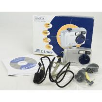 Jenoptik JD C 3.1 LCD OVP(3,14 Megapixel), Farbe: silber