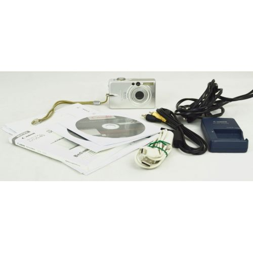 Canon Ixus 30 (3,2 Megapixel), silber