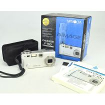 Konica Minolta Dimage F100 OVP (4 Megapixel), silber
