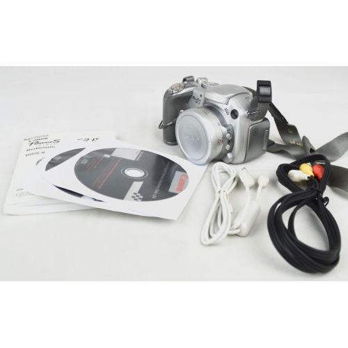 Canon PowerShot S2 IS (5,3 Megapixel), silber