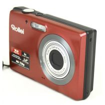 Rollei Compactline 103 gebrauchte Digitalkamera (10 Megapixel), Farbe: rot