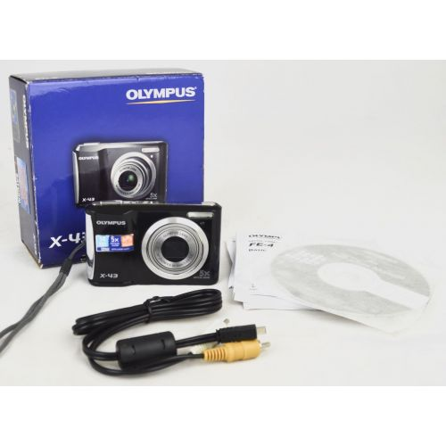 Olympus X-43 (14 Megapixel,5 -x opt. Zoom (2.7 Zoll Display))