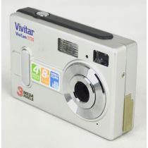 Vivitar ViviCam 3720 (3 Megapixel), silber, gebrauchte Digitalkamera