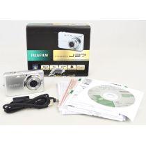 Fujifilm FinePix J27 DEFEKT (10,2 Megapixel), silber, gebrauchte Digitalkamera
