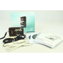 Canon IXUS 105 (12 Megapixel, 4-fach opt. Zoom), braun, gebrauchte Digitalkamera