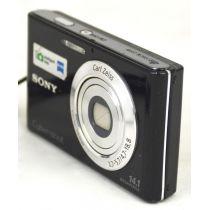 Sony Cyber-shot DSC-W330 Digitalkamera gebraucht (14.1 Megapixel, 28mm Weitwinkelobjektiv mit 4fach optischem Zoom) schwarz