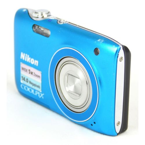 Nikon Coolpix S3100 Digitalkamera gebraucht OVP (14 Megapixel, 5-fach opt. Zoom, HD Video) zitrusgelb