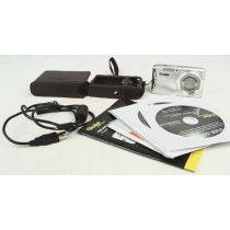 Rollei Compactline 390 SE gebrauchte Digitalkamera (14 Megapixel), silber