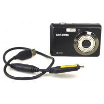 Samsung ES55 Digitalkamera gebraucht (10 Megapixel, 3-fach opt. Zoom, 6,4 cm (2,5 Zoll) Display) schwarz