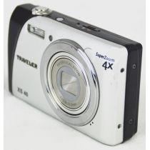 Traveler XS 40, DEFEKT, gebrauchte Digitalkamera (10 Megapixel), silber