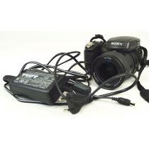 Sony Cyber-Shot DSC-R1, gebrauchte Digitalkamera mit eingebauten Objektiv (10,3 Megapixel), schwarz