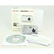 Jay-tech Speedshot C300, gebrauchte Digitalkamera (3 Megapixel), silber