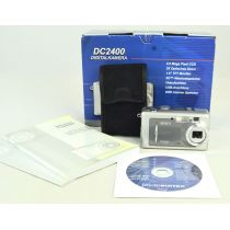 Maginon DC-2400, gebrauchte Digitalkamera (2 Megapixel), silber