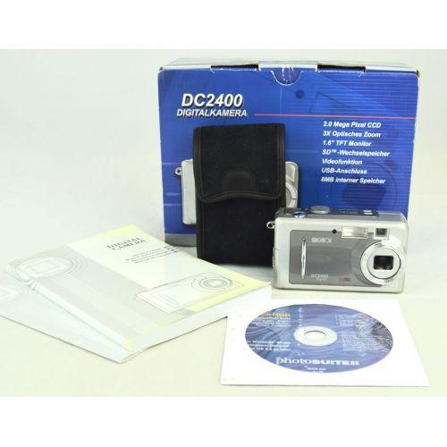 Maginot DC-2400, gebrauchte Digitalkamera (2 Megapixel), silber