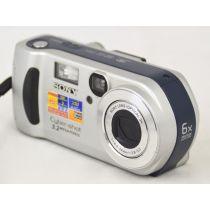 Sony DSC-P71 (3,2 Megapixel), gebrauchte Digitalkamera, silber