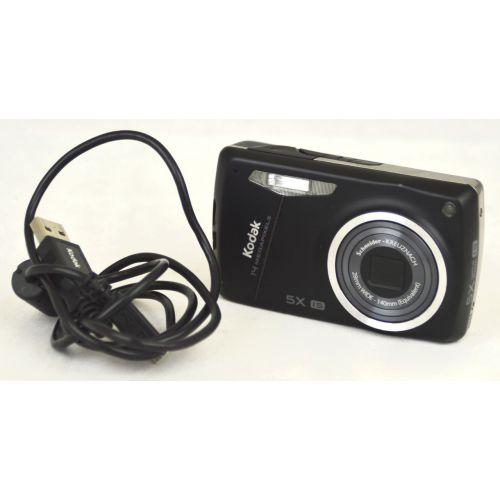 Kodak EasyShare M575 (14 Megapixel), gebrauchte Digitalkamera, schwarz