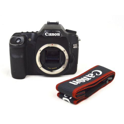 Canon EOS 40D Body SLR-Digitalkamera gebraucht (10 Megapixel, Live-View) schwarz