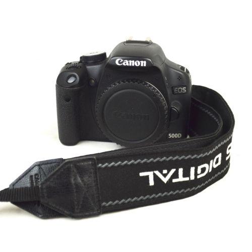 Canon EOS 500D Body (15 Megapixel, LiveView, HD-Video), Farbe: schwarz