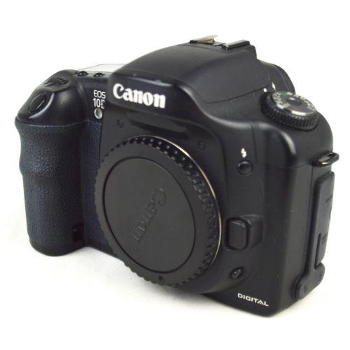 Canon EOS 10D SLR-Digitalkamera Body gebraucht (6,5 Megapixel) schwarz