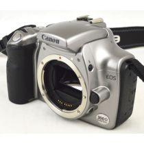 Canon EOS 300D (6,3 Megapixel), Farbe: grau