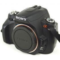 Sony Alpha 230 Body (10,2 Megapixel), gebrauchte Digitalkamera, schwarz