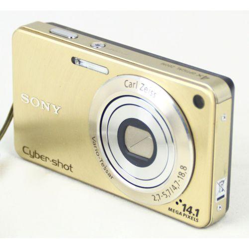 Sony Cyber-Shot DSC-W350 (12,1 Megapixel), gebrauchte Digitalkamera, gold
