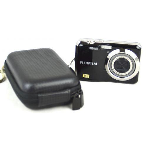 FujiFilm FinePix AX200, gebrauchte Digitalkamera (12 Megapixel), schwarz
