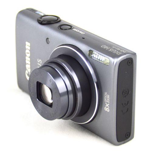 Canon Ixus 140 (15,9 Megapixel, WiFi), gebrauchte Digitalkamera, grau