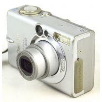 Canon Digital Ixus 400 gebrauchte Digitalkamera, OVP (4 Megapixel), silber