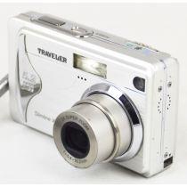 Traveler Slimline X5, gebrauchte Digitalkamera (5,2 Megapixel), silber