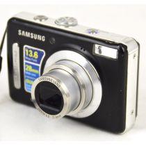 Samsung L310W (13,6 Megapixel), gebrauchte Digitalkamera, schwarz