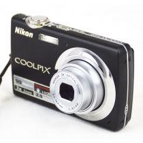 Nikon Coolpix S220 gebrauchte Digitalkamera DEFEKT (10 Megapixel), Farbe: schwarz