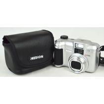 Medion MD40696 (5 Megapixel), gebrauchte Digitalkamera, silber