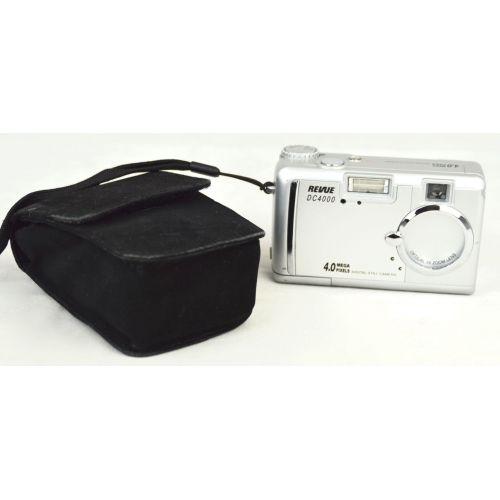 Revue DC 4000 (4 Megapixel), silber, gebrauchte Digitalkamera